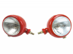 Red Headlamp Set